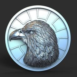 Download 3D printer files Eagle vol1 Pendant, AS_3d_art