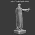 Télécharger STL Statue de Jésus-Christ vol3, anshu3dartist