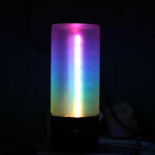 Download free 3D printer designs DIY WiFi RGB LED Soft Lamp, igormazurenko