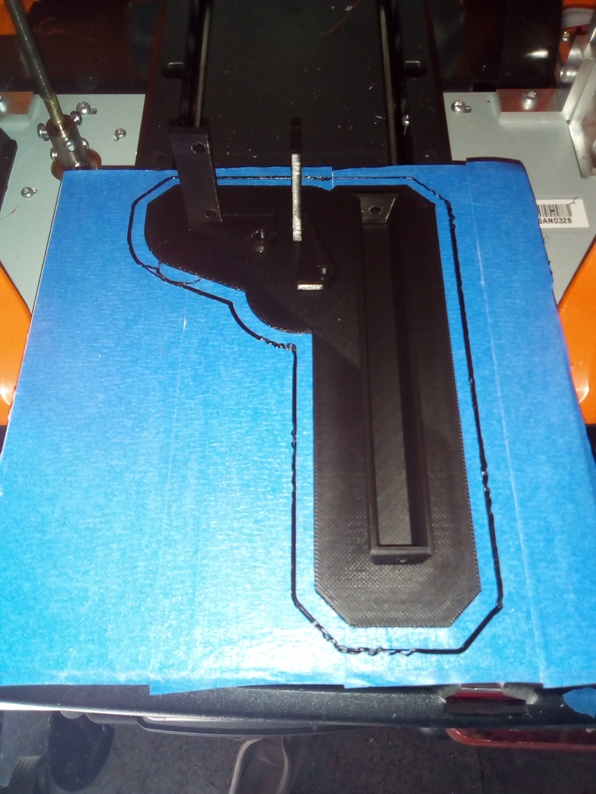 IMG_20190218_120703.jpg Download free STL file LED light bar for the DF MODELS DF-4J • Design to 3D print, peterbroeders