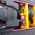 IMG_20200619_203709491.jpg Download STL file ARRMA NERO / FAZON AR320261 ARAC3468 BULKHEAD MID-FRONT with custom servo mount • 3D printer design, peterbroeders