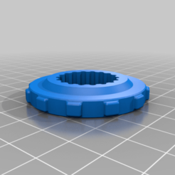 Smaller_Bed_Level_Wheel.png Download free STL file Leveling Knob Remix Anet A8 plus • 3D printable object, peterbroeders