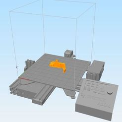 bed_model_A10M_for_S3D.JPG Download free STL file GEEETECH A10M Build Plate for S3D • 3D printer object, peterbroeders