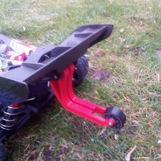 IMG_20190130_092223.jpg Télécharger fichier STL gratuit Arrma Wheelie Barre à roue Typhon BLX 6S • Modèle pour imprimante 3D, peterbroeders