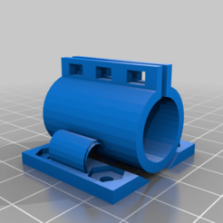 Float_Bearing_Holder.png Download free STL file Remix of LM8UU bearing mount • 3D printable design, peterbroeders