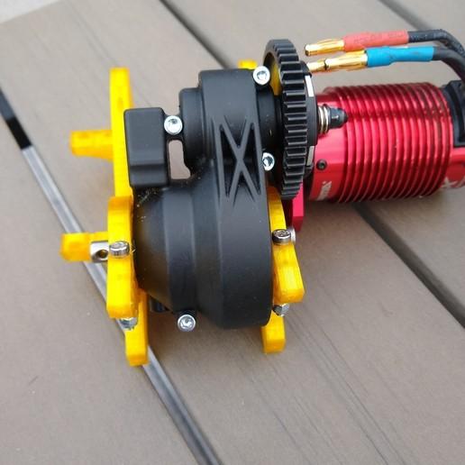 IMG_20200618_200318201.jpg Download STL file ARRMA NERO / FAZON AR320261 ARAC3468 BULKHEAD MID-FRONT with custom servo mount • 3D printer design, peterbroeders