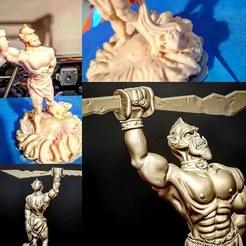 """STL file Orc """"gregorsculpt"""", gregorsculpt"""