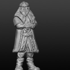 3D printer files Dwarf, gregorsculpt