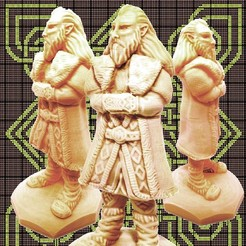 STL King Of Dwarf, gregorsculpt