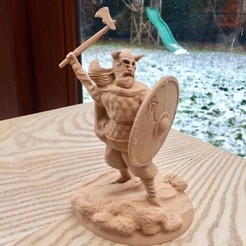 IMG_3843 copie.jpg Download OBJ file Viking • 3D printer object, gregorsculpt