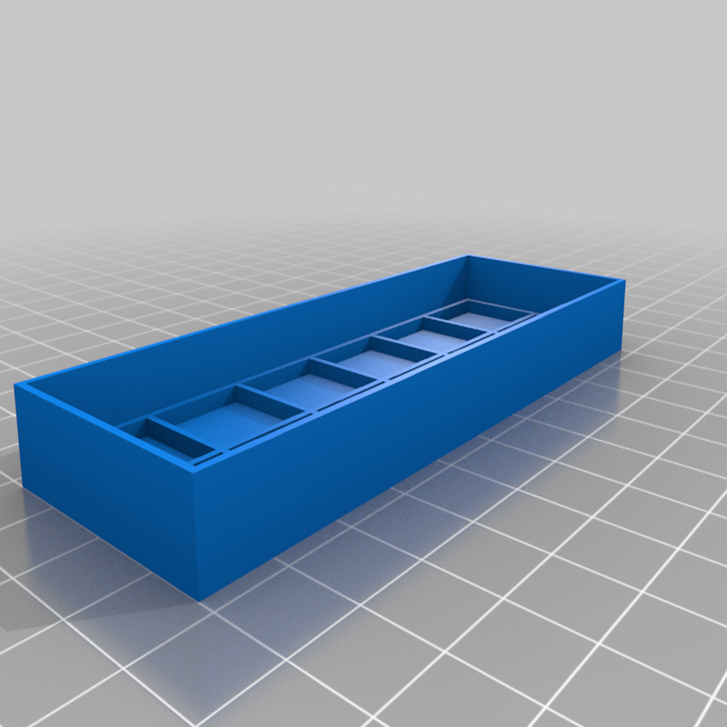 6X2_TOP.png Download free STL file BATTERY (AA) BOX (12 OR 10 SLOTS) • 3D printable object, baptisterebillard
