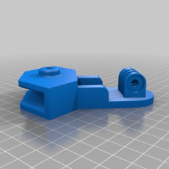 Download free 3D printer templates GOPRO BED MOUNT, baptisterebillard
