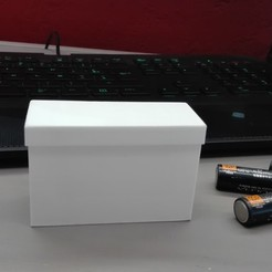 IMG_20190926_180619.jpg Download free STL file BATTERY (AA) BOX (12 OR 10 SLOTS) • 3D printable object, baptisterebillard