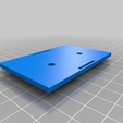 FT009_BATTERY_MOUNT.png Download free STL file FT009 BATTERY SUPPORT FOR GREATER BATTERY • 3D printer template, baptisterebillard
