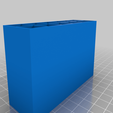 6X2_BOX.png Download free STL file BATTERY (AA) BOX (12 OR 10 SLOTS) • 3D printable object, baptisterebillard