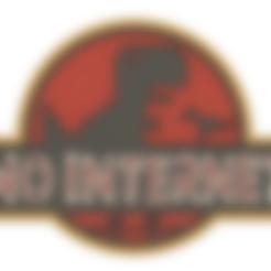 Download free 3D print files NO INTERNET - CHROME DINO (MULTICOLOR), Tech_Tatical