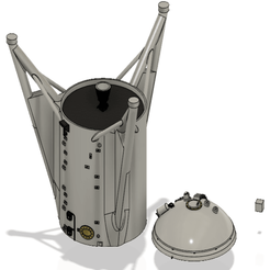 Screenshot_11.png Download free STL file Star Hopper - Spacex • 3D print design, Tech_Tatical
