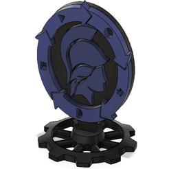 Download free 3D printing models troféu / medalhão engenharia mecânica, Tech_Tatical