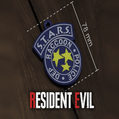 Download free STL file Resident Evil -Badge R.P.D. - S.T.A.R.S • 3D printer object, Tech_Tatical