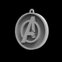 Download STL files Marvel Avengers Logo, Trimension