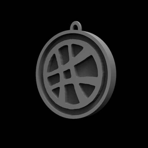 Télécharger fichier imprimante 3D Dr. Strange Logo, Trimension