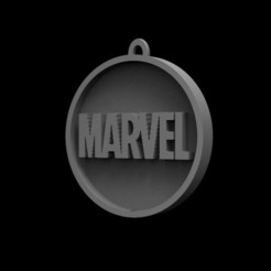 Descargar STL Logotipo de Marvel, Trimension