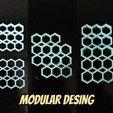 Fichier impression 3D gratuit Support modulaire pour bâton de colle chaude, Ingenioso3D
