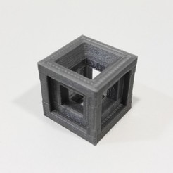 Download free STL Test calibration cube 20x20x20 mm, Ingenioso3D