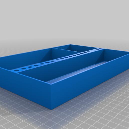 Power_Screwdriver_tray_v0.png Télécharger fichier STL gratuit Plateaux de chariots à outils • Objet pour imprimante 3D, Darrens_Workshop