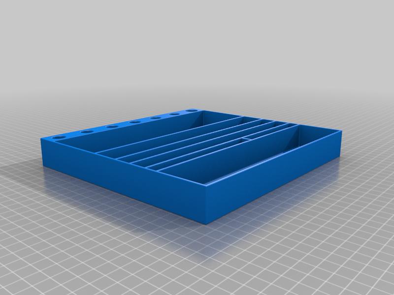 Adjustable_Spanner_Tray_v1.png Télécharger fichier STL gratuit Plateaux de chariots à outils • Objet pour imprimante 3D, Darrens_Workshop