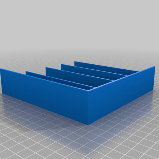 SD_Tray_Bottom_Left.png Télécharger fichier STL gratuit Plateaux de chariots à outils • Objet pour imprimante 3D, Darrens_Workshop