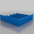 Download free 3D printer templates Tool trolly trays, Darrens_Workshop