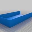 Long_tray_left.png Télécharger fichier STL gratuit Plateaux de chariots à outils • Objet pour imprimante 3D, Darrens_Workshop