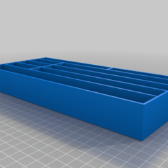 Download free 3D printer templates Tool trolly trays, Darrens_Workshop