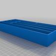 Pliars_Tray_v0.png Télécharger fichier STL gratuit Plateaux de chariots à outils • Objet pour imprimante 3D, Darrens_Workshop