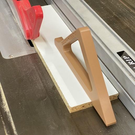 Download free STL file Easy print push stick • 3D print design, Darrens_Workshop