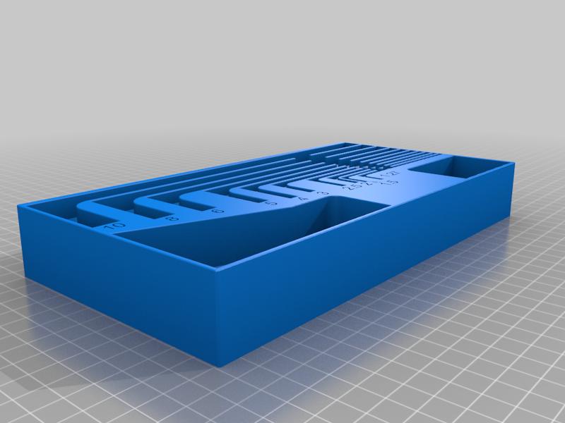 Alan_Key_tray_v1.png Télécharger fichier STL gratuit Plateaux de chariots à outils • Objet pour imprimante 3D, Darrens_Workshop