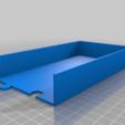 Long_Tray_Right.png Télécharger fichier STL gratuit Plateaux de chariots à outils • Objet pour imprimante 3D, Darrens_Workshop