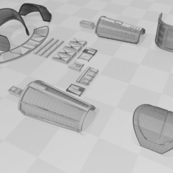 Download 3D model Star Wars - CARA DUNE ARMOR ver 4.0 - for COSPLAY, Madeintitan