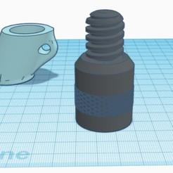 LegScrew.jpg Download free STL file Leg Screw for Insta-tripod • 3D printable template, D3Dorsett