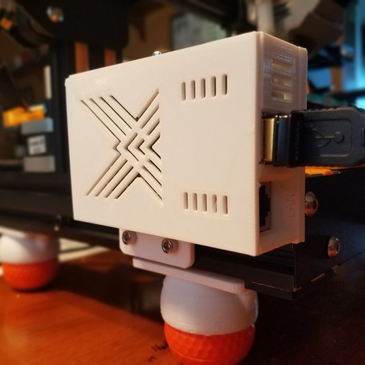 Télécharger fichier 3D gratuit Boîtier Pi Framboise Modèle A pour cadre Ender 3 ou 2020, D3Dorsett