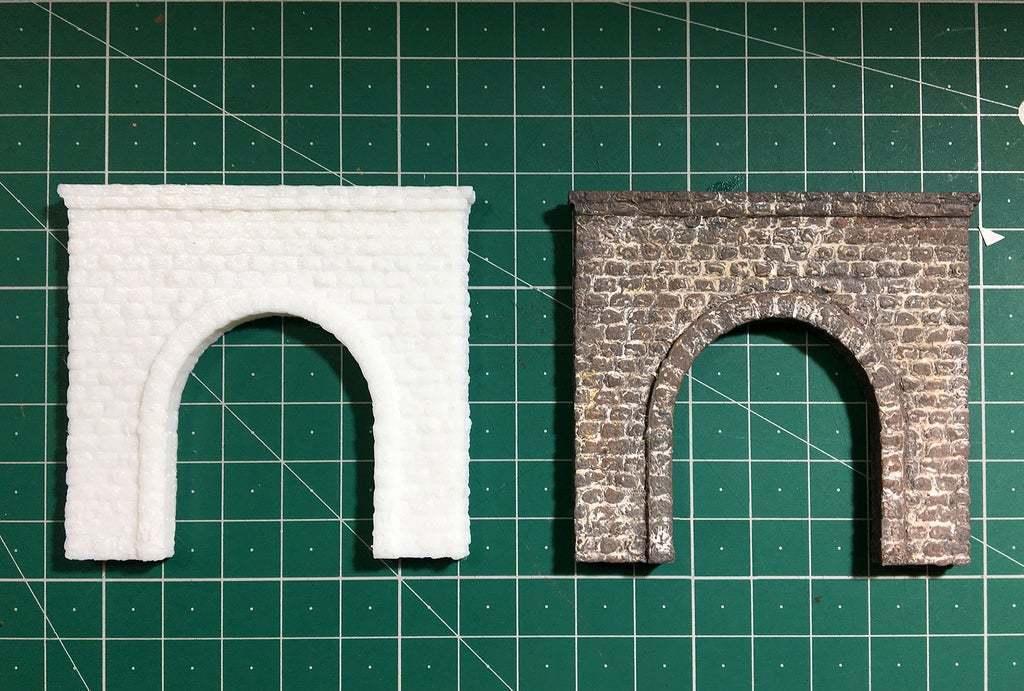 IMG_1830.JPG Télécharger fichier STL gratuit Portail du tunnel à l'échelle N pour le modélisme ferroviaire • Modèle imprimable en 3D, InvertLogic