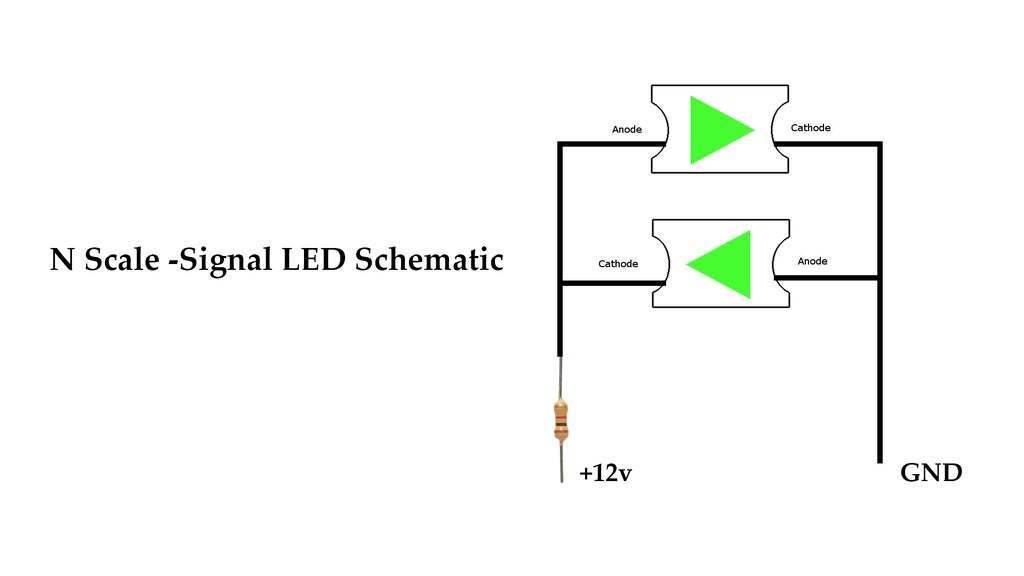 schemati.jpg Download free STL file N Scale Signal • 3D printer object, InvertLogic
