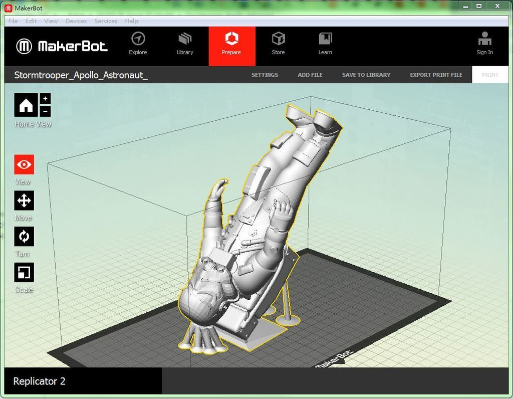 AA_display_large.JPG Télécharger fichier STL gratuit L'astronaute stormtrooper • Plan pour imprimante 3D, Pwenyrr