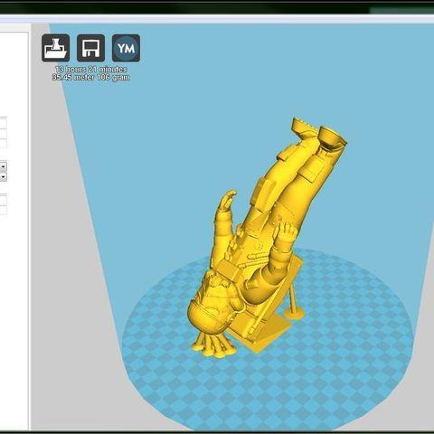 ABS_display_large.JPG Télécharger fichier STL gratuit L'astronaute stormtrooper • Plan pour imprimante 3D, Pwenyrr