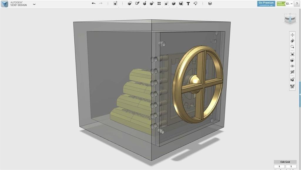 9296e699f21edbf374ed18f20cb4a086_display_large.jpg Télécharger fichier STL gratuit coffre-fort • Objet pour imprimante 3D, Pwenyrr