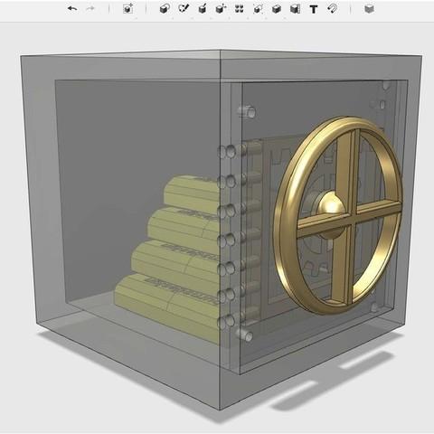 Télécharger objet 3D gratuit coffre-fort, Pwenyrr