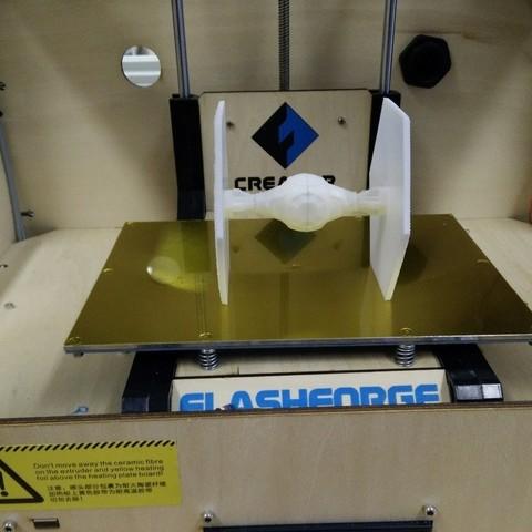 Free 3D printer model TIE Fighter 3D, Pwenyrr