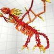 Download free 3D model Flame Dragon, Pwenyrr