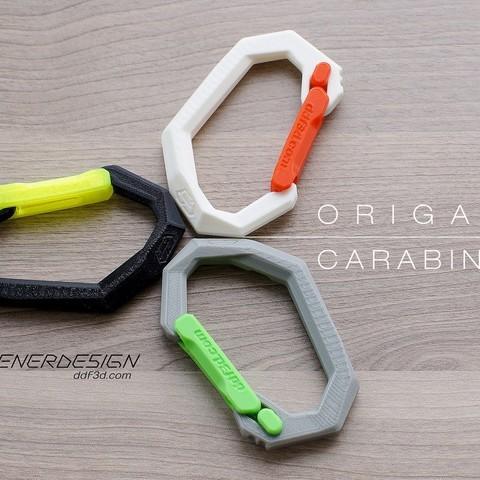 e004241aba826f0d314e7538b8643f5e_display_large.jpg Download free STL file Origami Carabiner by ddf3d.com • 3D printable design, Pwenyrr